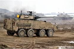 最新雲豹30鏈砲甲車 年底進駐北市中樞