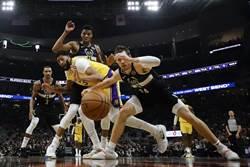 NBA》字母哥壓詹眉 湖人本季首嘗連敗