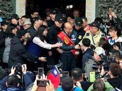 韓蔡網路直播 女議員看人數譏:1450沒動員