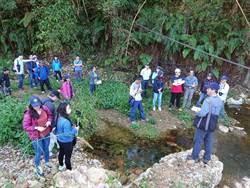 保育台灣白魚 南投林管處組跨域合作小組