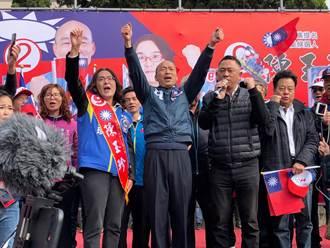 韓國瑜到金門  民眾狂喊:總統好!