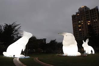 巨兔現身新竹為動物園重生 與2020台灣燈會暖身