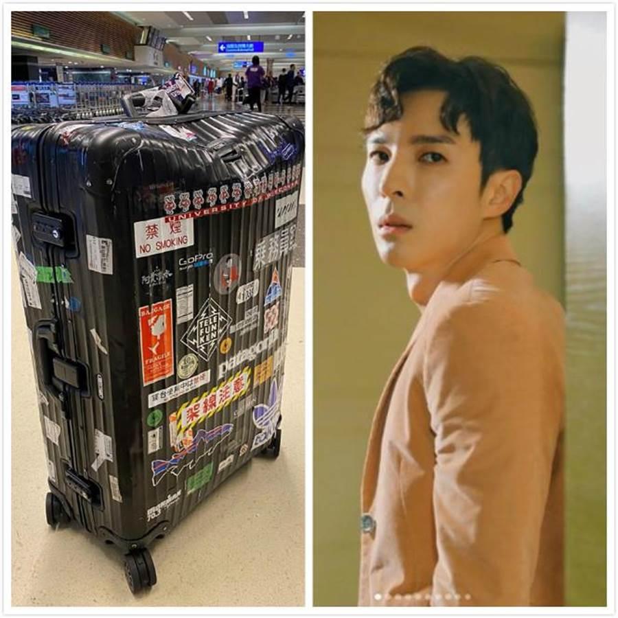 藝人陳勢安日前搭機超倒楣,要價6萬元的名牌行李箱被摔壞,航空公司處理態度消極,讓他很火大。(圖擷自陳勢安臉書)