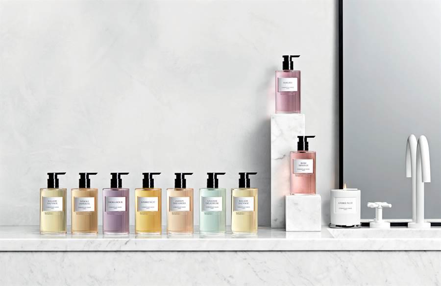 迪奧香氛世家系列,洗手乳情境照。(迪奧提供)