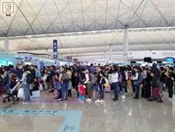 港學校聖誕假期展開 機場出國市民今高峰
