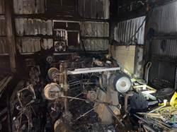 台中太平鐵皮工廠祝融 燒毀8機台
