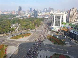wecare台灣大遊行 尹立宣布50萬人走出來