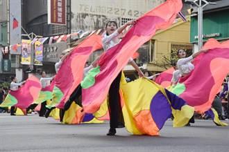 嘉市管樂節踩街嘉年華 吸引數萬民眾圍觀