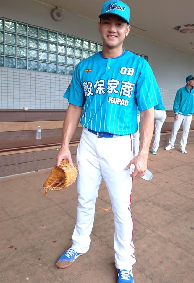 江少慶選擇美職老虎隊是想給自己一次機會拚看看!(陳志祥攝)