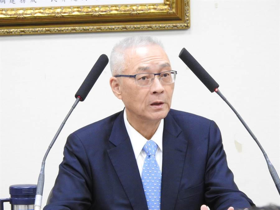 國民黨前主席吳敦義。(資料照,趙婉淳攝)