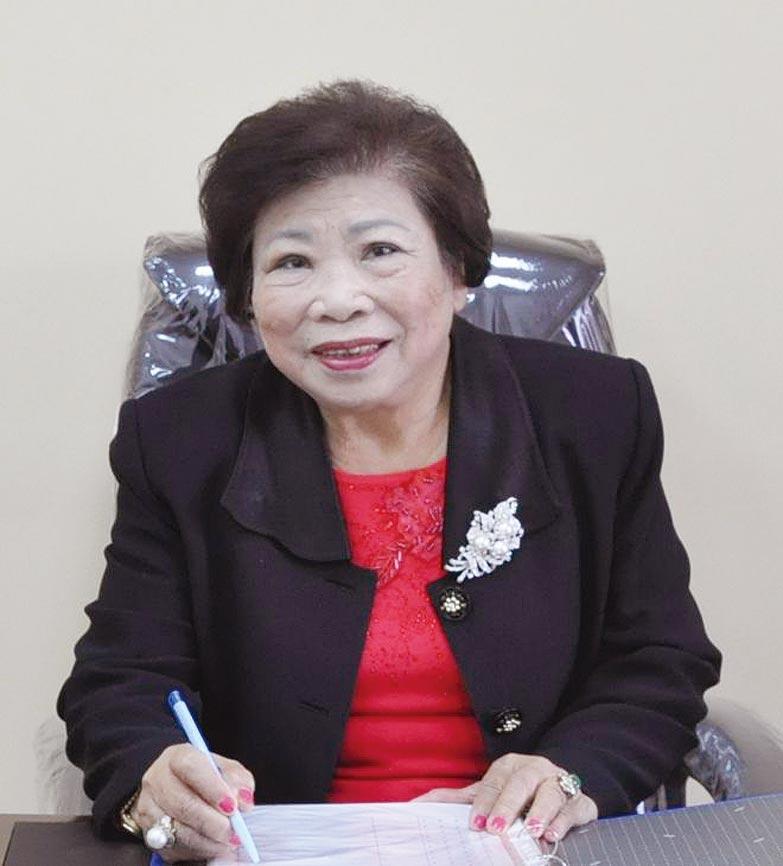 新竹荷蘭村護理之家創辦人陳春鳳。圖/嚴強國