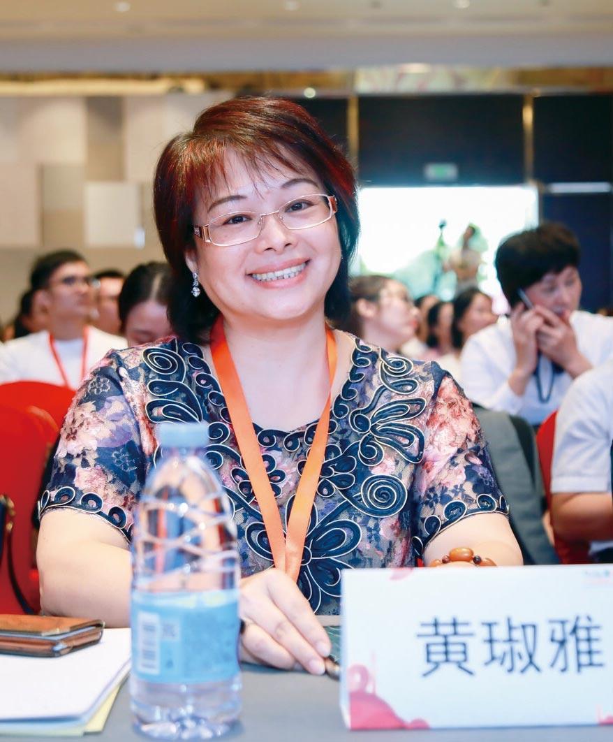 臺灣亞太健康管理協會副理事長黃琡雅。圖/嚴強國