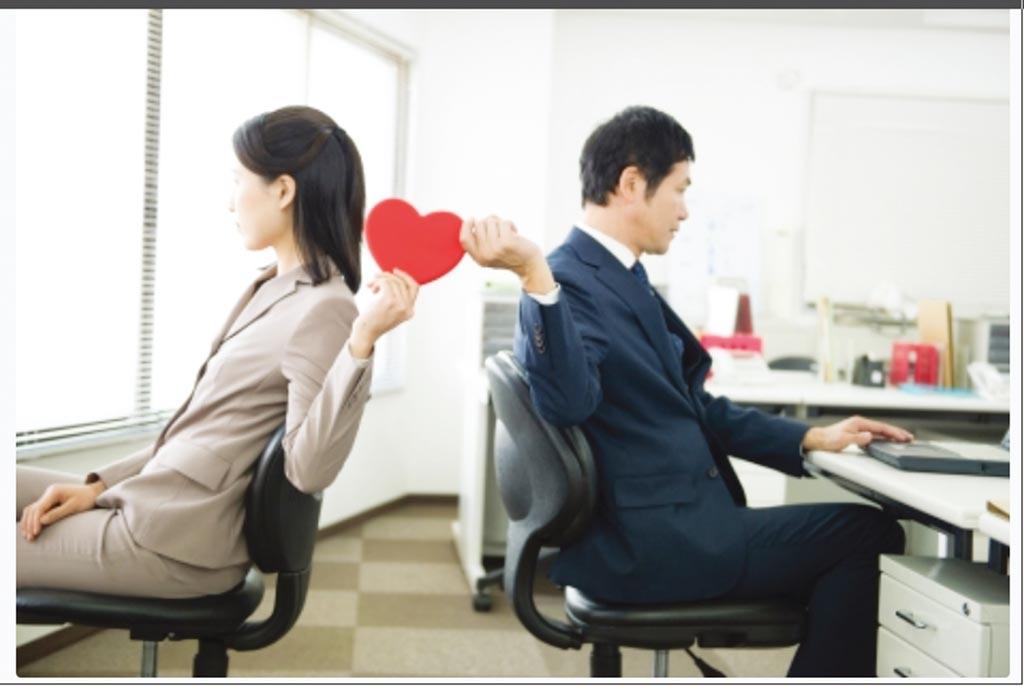 辦公室戀情大不同圖╱photoAc