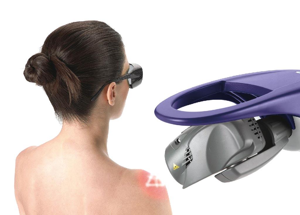業者引進義大利除痛機器人屬於非侵入性治療,過程無痛、效果顯著。圖/業者提供