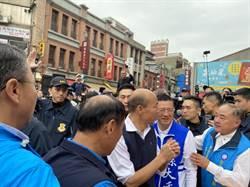 韓國瑜輔選孫大千 霞海城隍廟「發爐」
