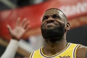 NBA》胸傷沒練球?詹皇恐將首度缺陣