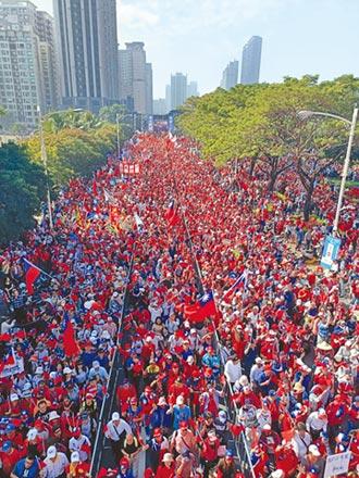1221街頭人氣大對決 見證南方崛起 警估人數差2倍 挺韓強壓罷韓