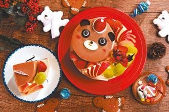 普諾麵包坊 小熊蛋糕迎耶誕