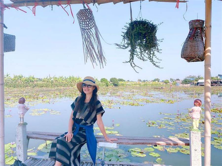 方文琳前陣子到泰國旅遊。取自臉書