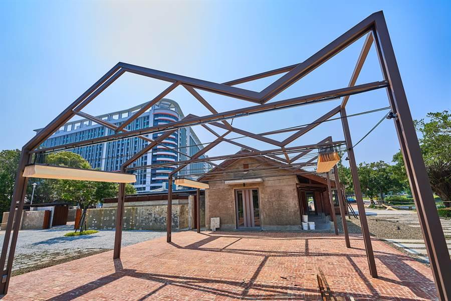 新竹市政府嚴格把關公共工程設計品質,將軍村圖書資訊園區獲得2019年第7屆台灣景觀大賞的優質獎。(市府提供/莊旻靜新竹傳真)