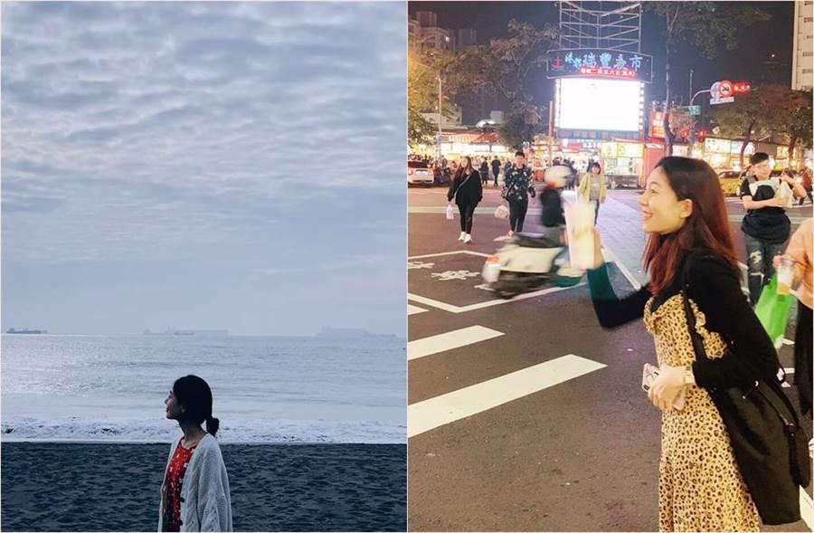 以韓劇《奇皇后》壞皇后一角紅遍亞洲的韓國女星白珍熙,近日到高雄開心觀光。(圖/翻攝自白珍熙IG)