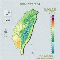 吳德榮:耶誕暖如春 周五台北恐只有13度