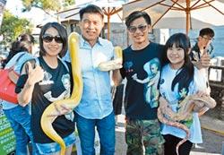 另類寵物 爬蟲大會師 蟒蛇鱷魚遊街