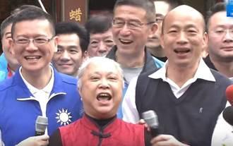韓國瑜到台北深綠區拜廟 聽到這5字嗨翻