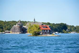 世界最小島嶼尺寸驚人 僅容一棟房