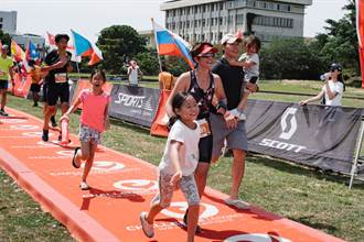 地表最硬馬拉松 美女主播全家一起跑