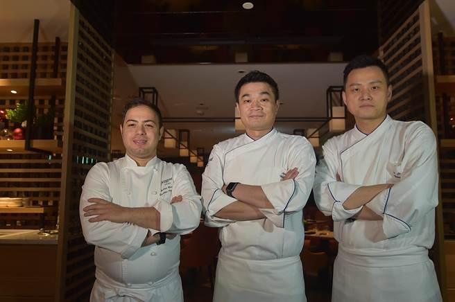 台北晶華〈ROBIN'S Grill〉重新換裝再出發,由3位大廚設計菜式。(圖/姚舜)