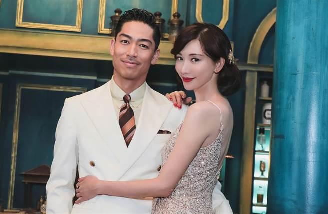 林志玲和AKIRA去年11月17日在台南舉辦世紀婚禮。(圖/本報系資料照)