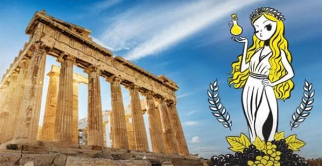 酷航有飛希臘雅典,台灣旅客可從新加坡轉機。圖:酷航提供