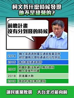 羅智強怒轟民進黨 選舉割環狀線南環段稻尾