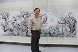國立水里商工「紅樓雅集」唐龍才鄉土風情彩繪展