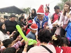 耶誕節到來!立委顏寬恒參與義賣園遊會捐助做公益