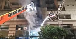 鋰電池倉庫「閃燃」  消防員救火10人傷  9人已出院
