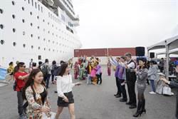 台中觀旅局喜迎大船入港 1400位港澳旅客暢遊中台灣