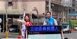 李永萍勤走基層 用行動證明自己是做事的候選人