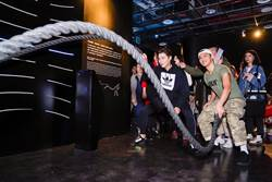 台電推電幻1號所打造「能源健身房」