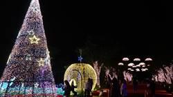 越夜越美麗 宜蘭年節燈飾持續到2月