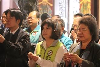 賴清德、陳菊台南輔選互動少 賴:國民黨別打泥巴仗