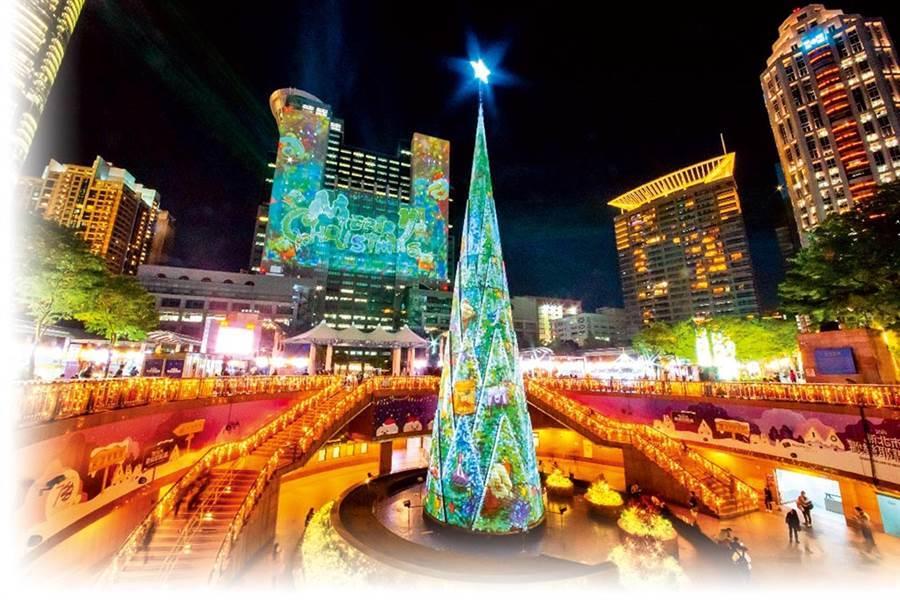 圖為板橋新北耶誕城(圖片取自/新北市政府觀光旅遊局)