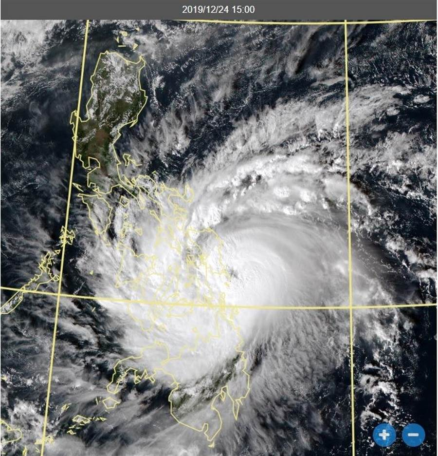 氣象局副局長鄭明典指出,巴逢颱風對菲律賓的威脅還是很大。(摘自鄭明典臉書)
