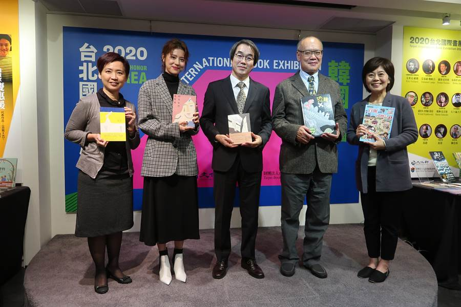 明年初2月2日到9日的台北國際書展,韓國將第二度成為主題國,將以「K-Style」為主題邀請電影《82年生的金智英》原著小說作者趙南柱等12位韓國作家來台與讀者見面。(許文貞攝)