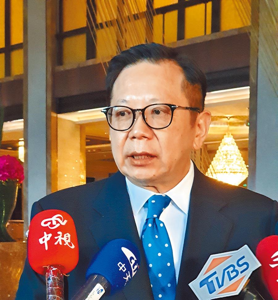 北京台商協會會長章啟正。(記者藍孝威攝)
