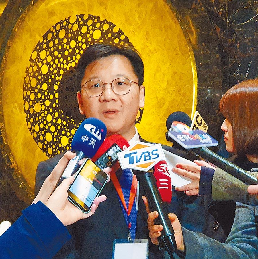 大陸全國台企聯總會長李政宏。(記者藍孝威攝)