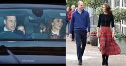 凱特王妃也玩聖誕變裝!氣質半截裙腿型美炸