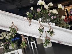 桃園市生命線協會、義興花藝共推公益展覽