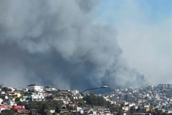 智利中部野火燒毀120屋 當局不排除惡意縱火